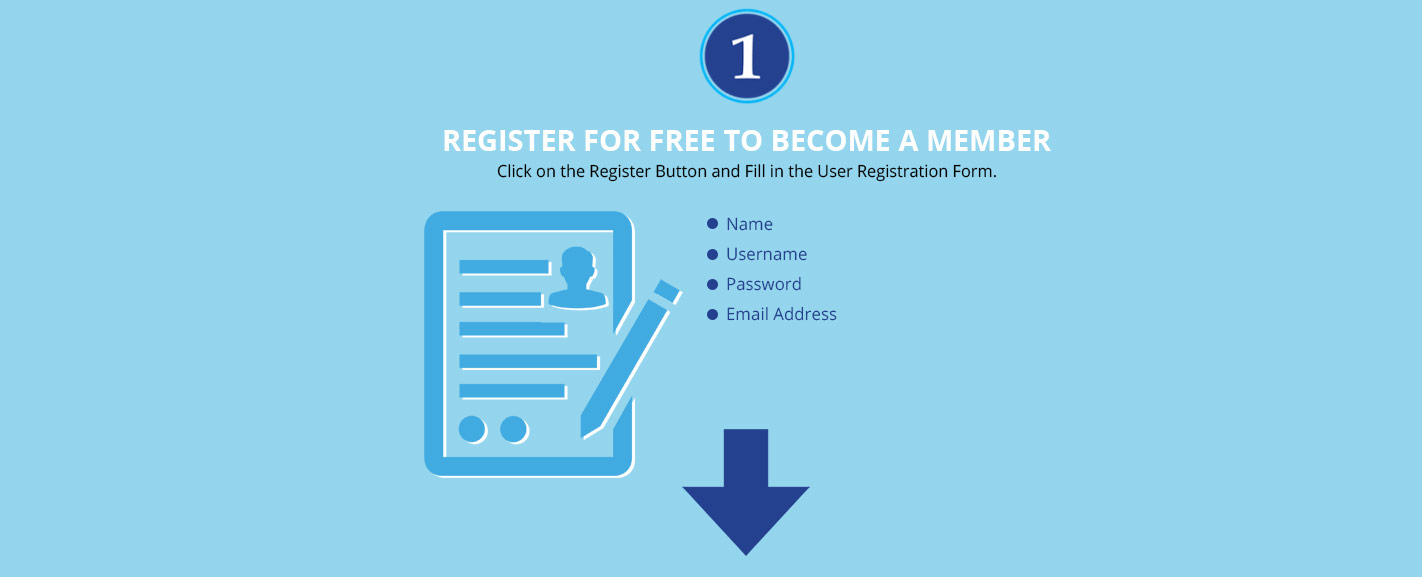 Register for free to become a member